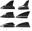 Carbon Fiber Roof Decor Antenna Shark Fin For Universal Car All cars NO Aerials