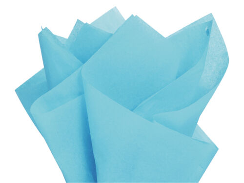"Bulk Tissue Paper 15/"" X 20/"" 50 or 100 Sheets Packs Pom Gift Favors 48 Color"