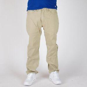 Levi-039-s-514-Straight-leg-Khaki-Twill-Pants-Herren-beige-Hosen