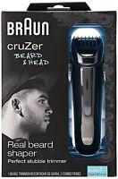 Braun Cruzer 5 Beard And Head Trimmer, 5 Beard And Head Cruzer