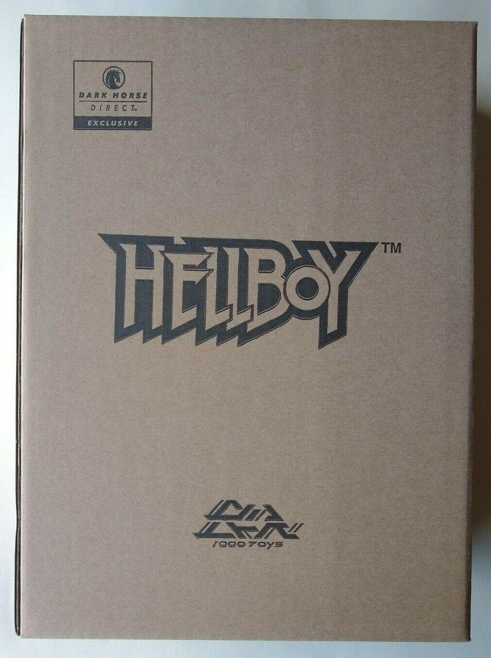 1000 Juguetes Hellboy oscuro HORSE versión exclusiva figura de acción Sellados DIRECT