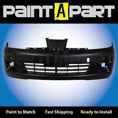 Fits: 2010 2011 Nissan Versa Sedan PREMIUM Front Bumper Base,S,SL Painted