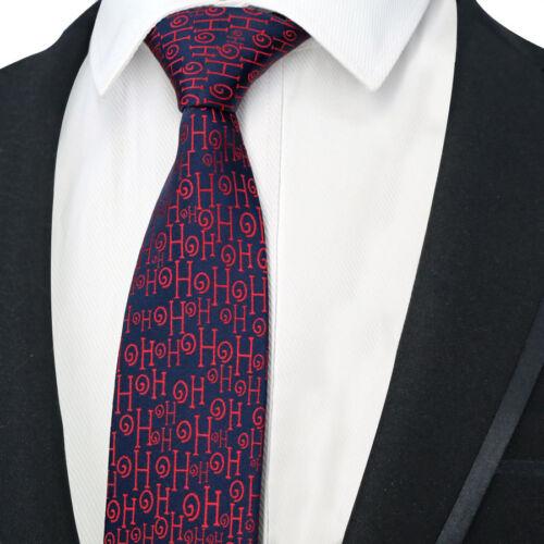 Classic 8CM Men/'s Necktie Silk Tie Floral Jacquard Woven Christmas Neck Ties