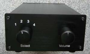 Passive-Preamp-Pre-Amplifier-Switch-Box-Attenuator-CMC-socket