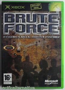 Jeu-BRUTE-FORCE-sur-microsoft-XBOX-francais-action-tir-combat-game-spiel-juego-1