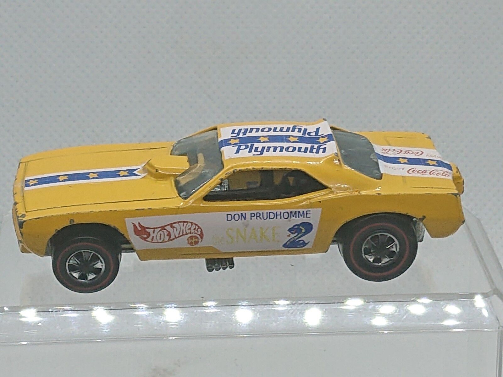 1970 Hot Wheels Snake Funny Car HK Redline sthw1165