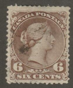 Canada-1868-27a-Large-Queen-Issue-Queen-Victoria-F-VF-Used