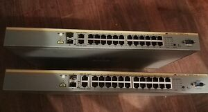 ALLIED-TELESIS-AT-8000S-24-PORT-Fast-Ethernet-STACK-MANAGED-switch