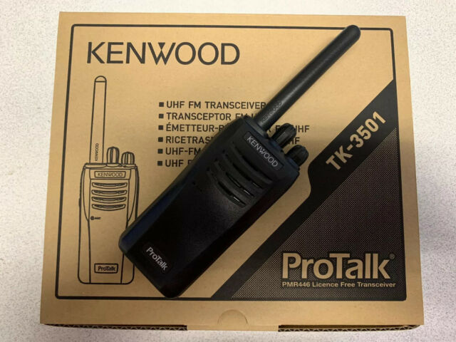 Kenwood TK3501 Two-way Walkie Talkie Radio Pmr446