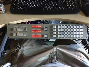 Pro-Bel 6276/6277 Router Control Panel Matrix