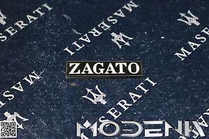 Maserati-Biturbo-Spider-Spyder-Emblem-Schriftzug-Scritta-Zagato-Kotfluegel
