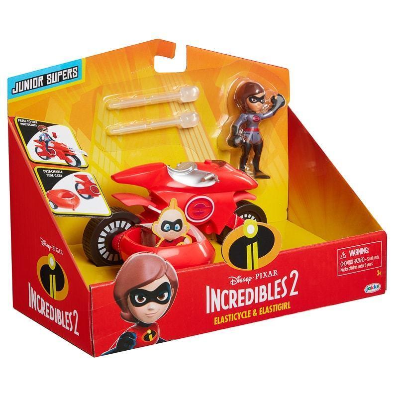 Brand New Kids Incredibles Elastigirl & Elasticycle