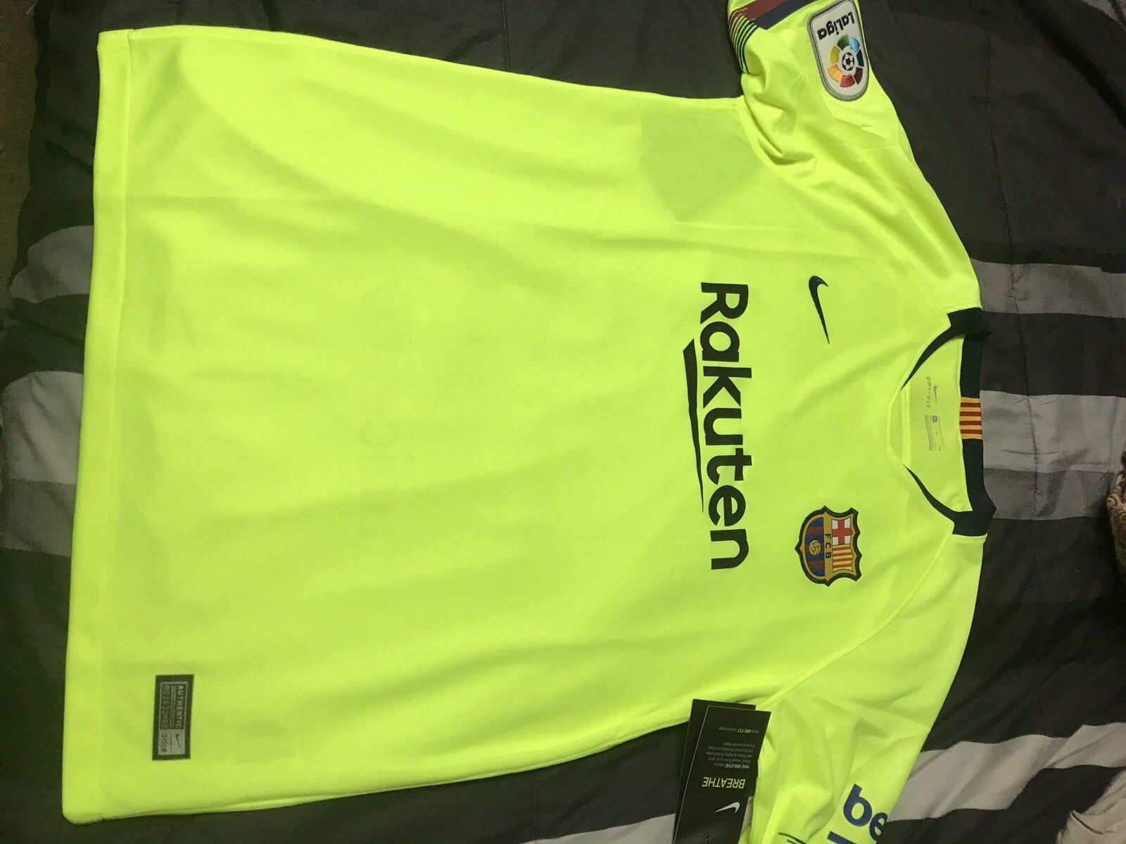 FC Barcelona Boys Soccer Away Jersey 201819 New  La Liga