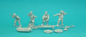 28mm-WW2-British-Airborne-Paratroops-Howitzer-unpainted-Historical-1st-Corps
