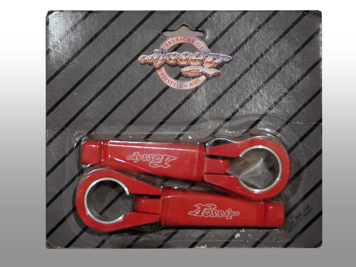 1986 Odiseo BMX bicicletas viejo pinzas de Cochedenal, rojo
