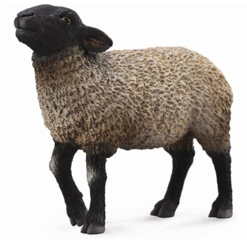 Mouton suffolk 8 cm ferme animaux collecta 88636