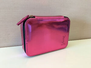 YSL Cosmetic Case Box Makeup Bag MIRROR INSIDE New with Original ... dbe8721241aaf