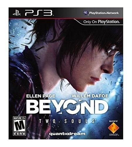 PS3 BEYOND TWO SOULS ELLEN PAGE WILLEM DAFOE QUANTIO DREAM NEW *FREE SHIP*