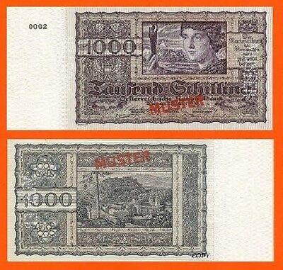 UNC Austria 5 Gulden 1784 Reproductions