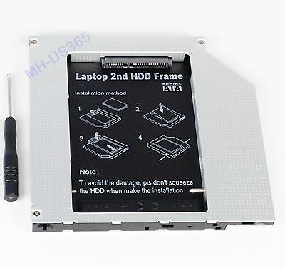 2nd HDD SSD Hard Drive Caddy for Toshiba Satellite A210 A215 Toshiba Tecra M10