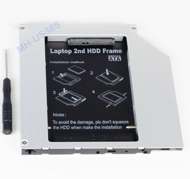 2nd PATA IDE to SATA Hard Drive HDD SSD Caddy Adapter for Apple iMac Early 2008