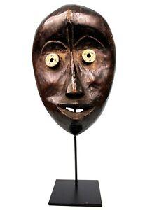Arte Africano - Grande Maschera Dan - Base Su Misura - Africano Mask