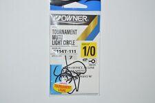 Owner Tournament Mutu Light Circle Hooks Sz 2 Model 5114t-091 48 Total for sale online
