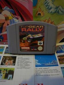Nintendo-64-N64-Top-Gear-Rally-TOP-KEMCO-amp-1ERE-EDITION-SEUL-Fr