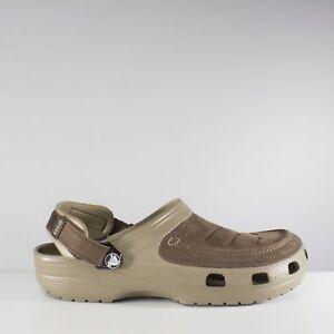 ddfce036da0e Image is loading Crocs-YUKON-VISTA-Mens-Leather-Touch-Fasten-Summer-