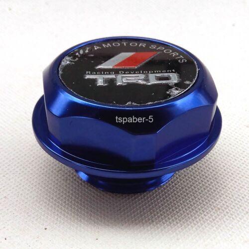 Blue Engine Oil Filler Cap Made Of Aluminum Billet