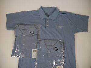 Dolce-amp-Gabbana-Light-Blue-Polo-Shirt-Hologram-Tags-Mens-L-XL-BRAND-NEW