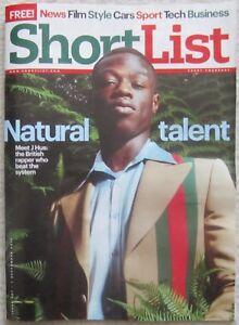 J Hus  Shortlist magazine  7 September 2017 - London, United Kingdom - J Hus  Shortlist magazine  7 September 2017 - London, United Kingdom