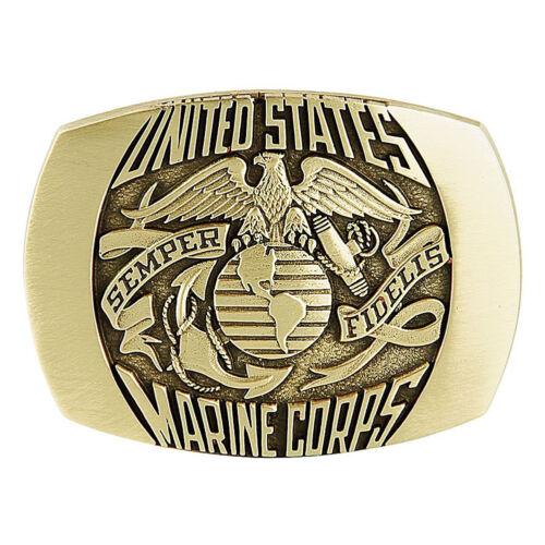 US Marine Corps Solid Brass Belt Buckle USMCBB301 IMC-Retail