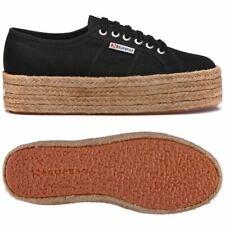taglia 40 3fc70 4c54e Superga 2790-cotropew Sneaker a collo basso Donna Nero 38 EU