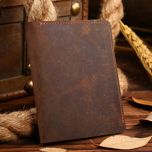 Men-Crazy-Horse-Vintage-Leather-Bifold-Slim-Short-Wallet-Small-ID-Coin-Purse