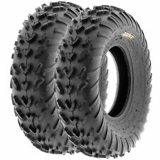 Pair of 2, 20x7-8 20x7x8 Quad ATV All Terrain AT 6 Ply Tires A007 by SunF