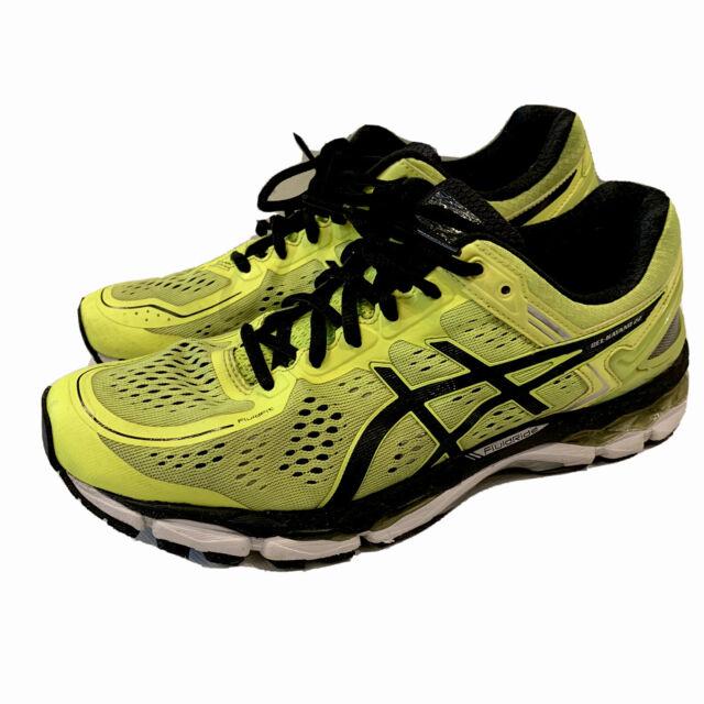 asics shoes womens black gel yellow