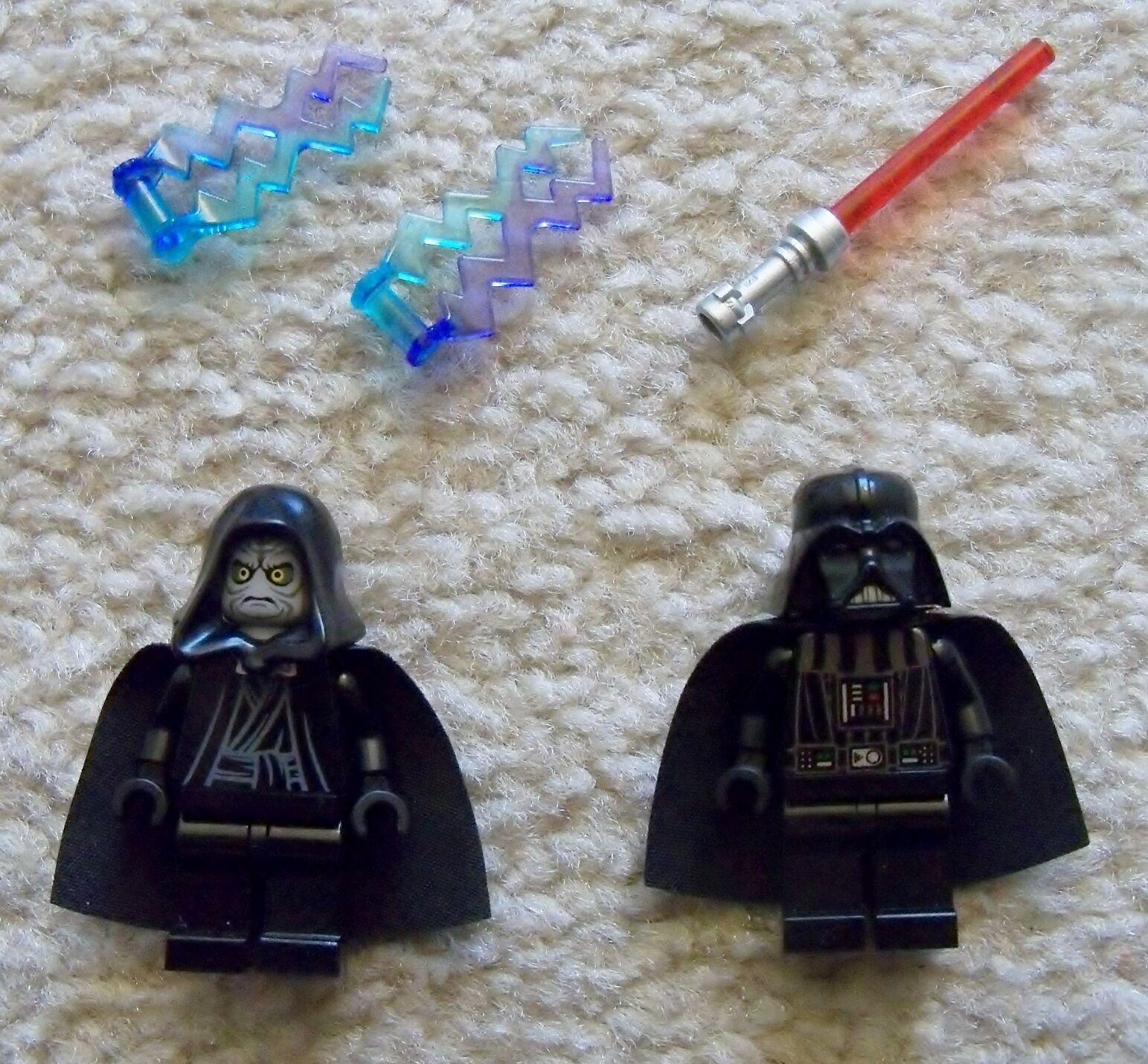 Lego Star Wars - Selten - Darth Vader & Sith Lord Emporer Palpatine aus 10188