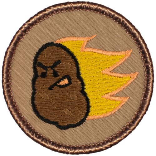 Hilarious Boy Scout Patrol Patch! #608A The Flaming Potato Patrol!