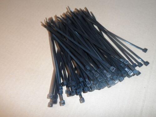 Colliers de serrage Rilsan Colson Nylon noir 150 mm x 3.6 mm 200 pièces