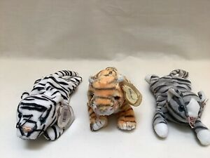 Blizzard, Rumba and Prance Beanie Babies