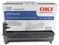Genuine Oki C710 Color Printer Cyan Image Drum 43913803