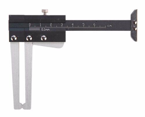 peut mesurer Profondeur de sculpture trop disque de frein Vernier Caliper Trident outils T283260