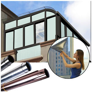 Solar-Reflective-One-Way-Mirror-Privacy-Window-Film-Glass-Sticker-New-Useful-New