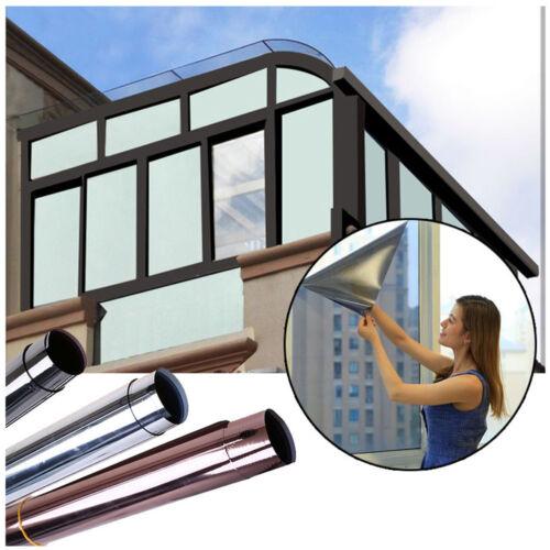 One Way Mirror Privacy Tinting Solar Reflective Tint Window Film Sticker Anti-UV