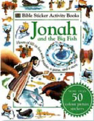 (Very Good)-Bible Sticker Activity Books: Jonah (Paperback)--0751362735