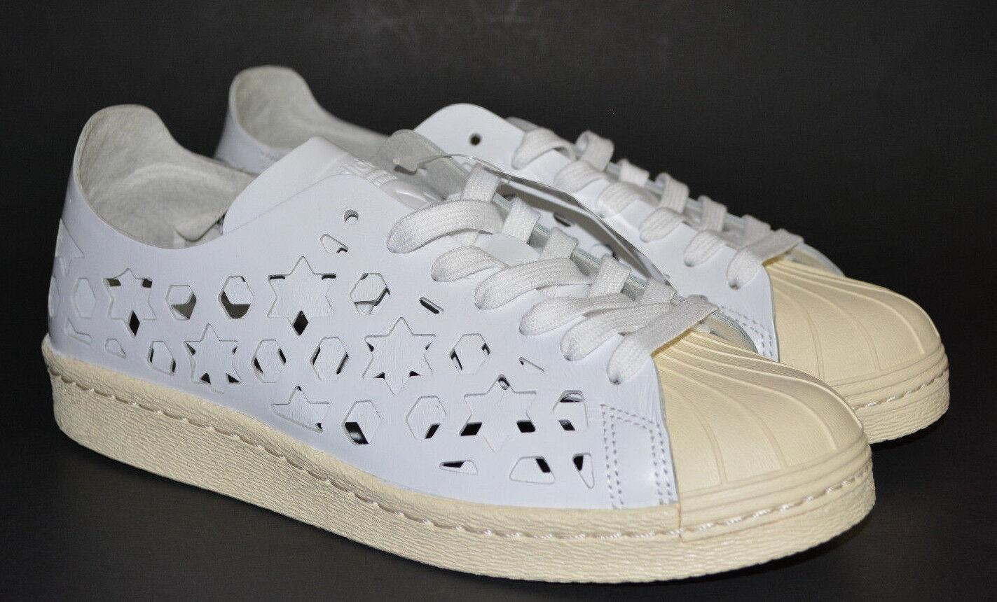 adidas Originals Superstar 80s Cutout W Leather White Women Classic ... 7cf8e875a