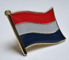 Netherlands ( Holland )Flag Lapel Pin Badge Superior High Quality Gloss Enamel