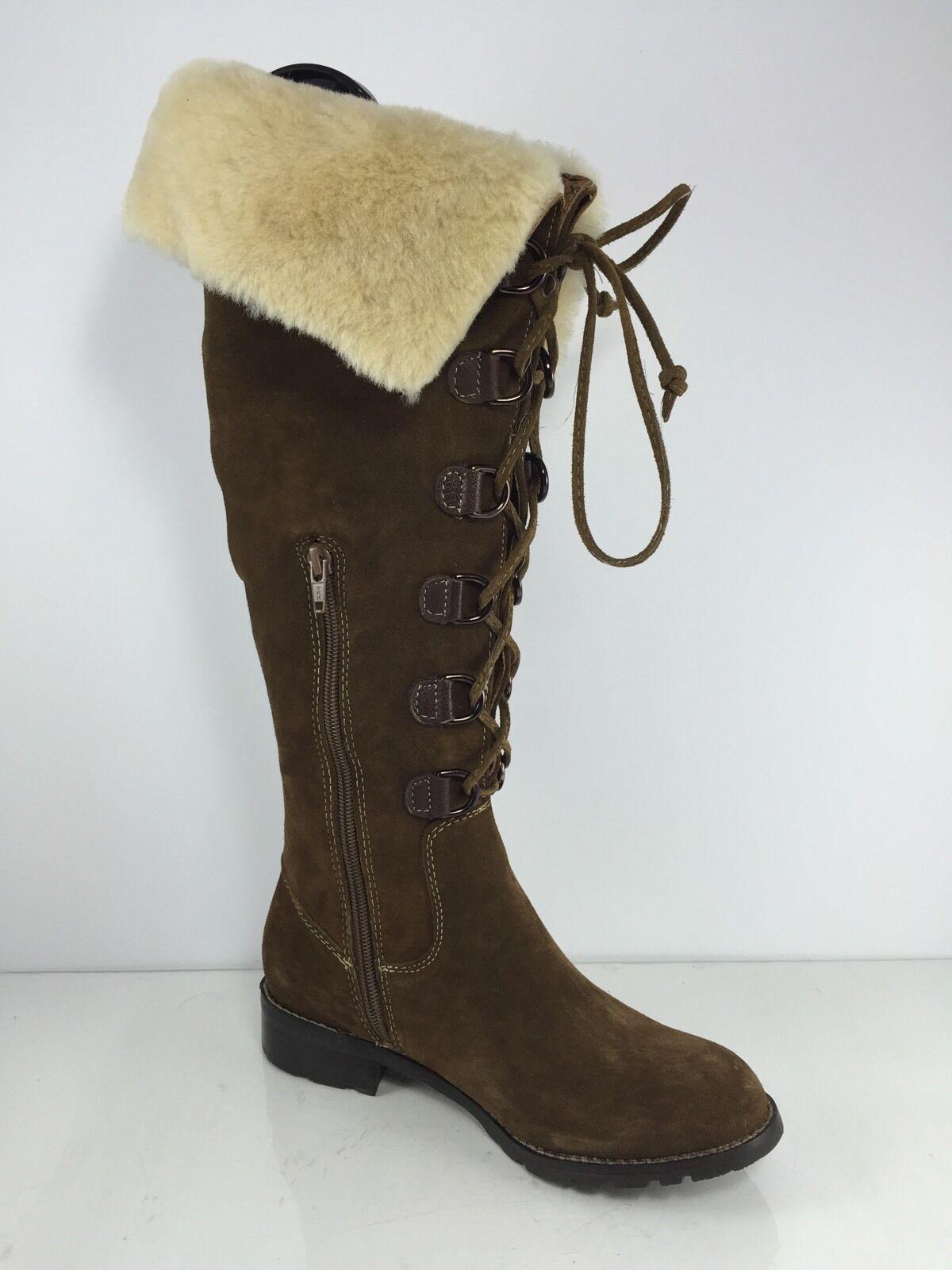 Sofft Damenschuhe Leder Braun Leder Damenschuhe Stiefel 6.5 M 6d2af3