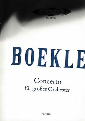 2019 Mode D.boekle: Concerto Für Großes Orchester. GläNzend